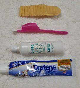 犬用歯磨き、